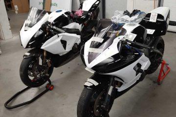 2020 bikes painted