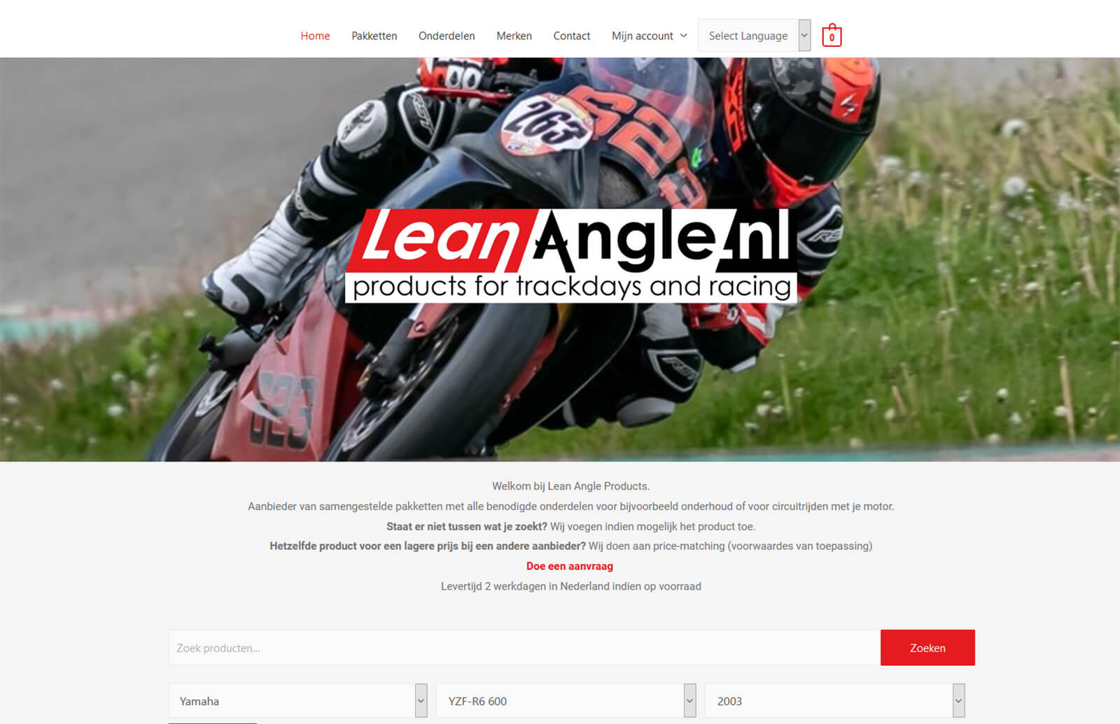 Lean Angle Products